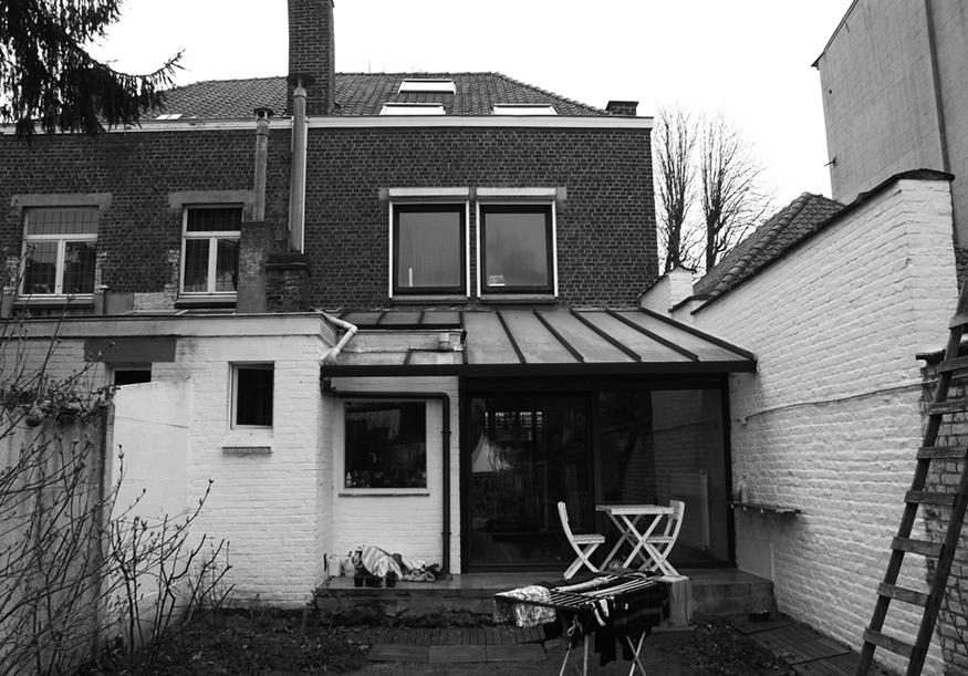 Extension d'une habitation à Tournai