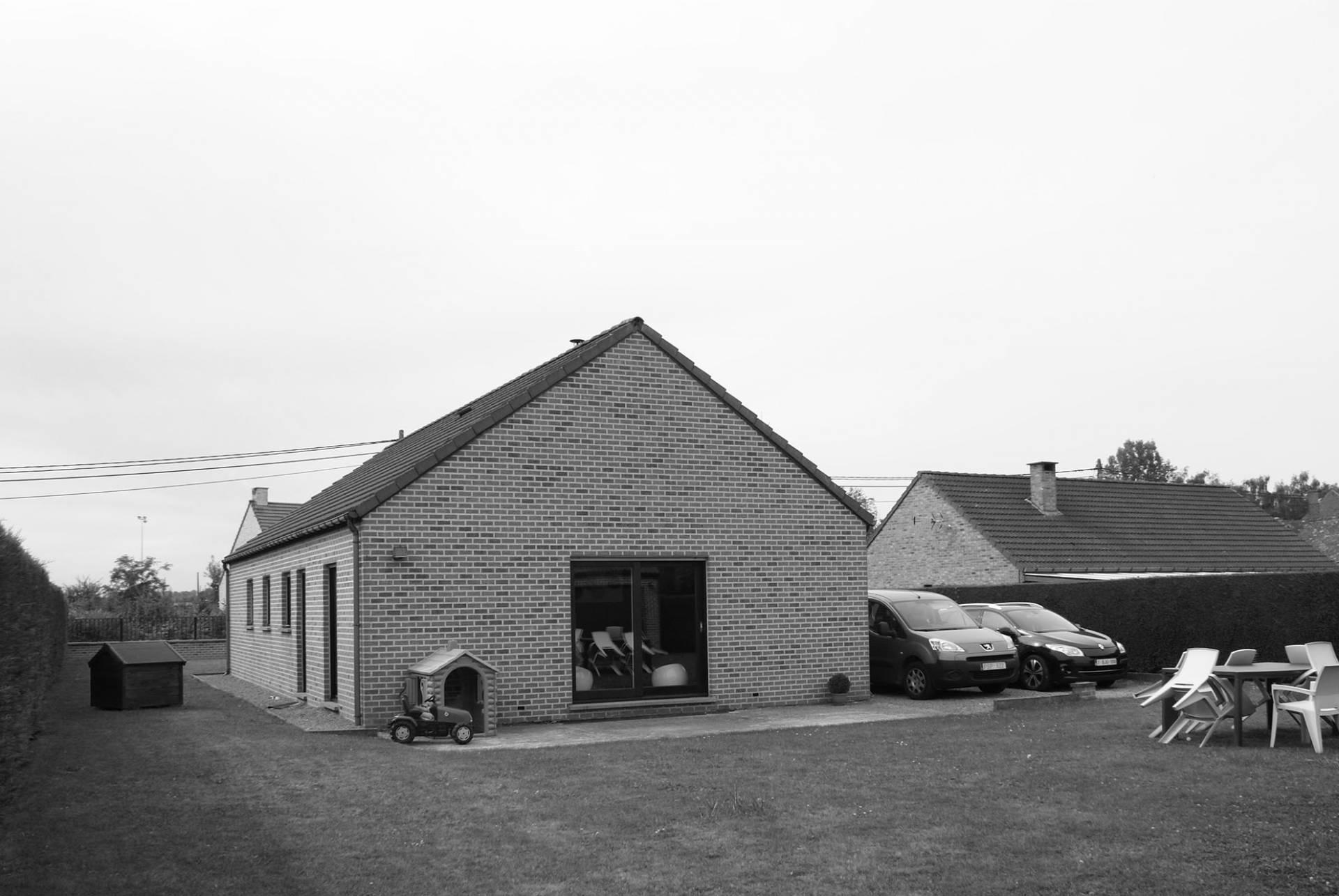 Extension d'une habitation à Wiers