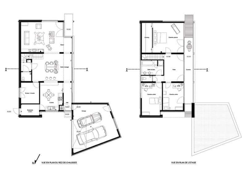 Nouvelle habitation à Stambruges