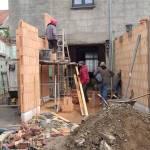 Extension d'une habitation à Kain