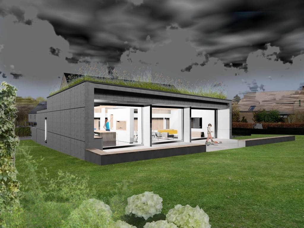 Nouvelle habitation à Gaurain-Ramecroix